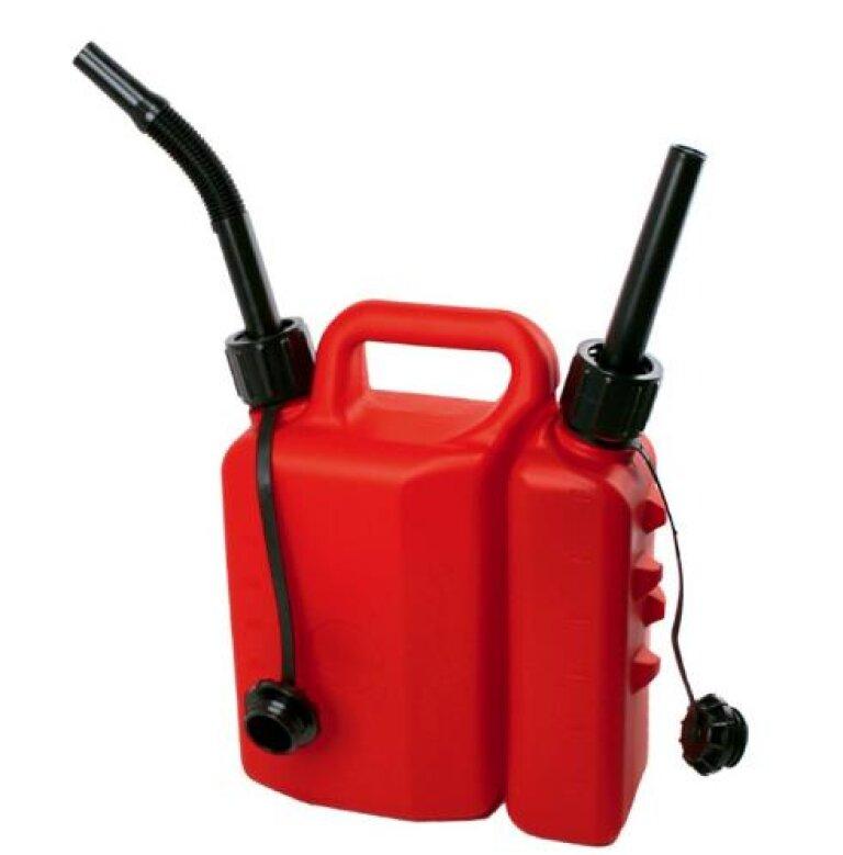 Bilha de Plástico 1,5lts+3,5lts Combustível