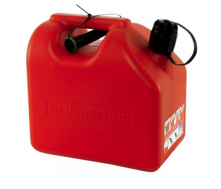 Bilha Plástico 10lts Combustível