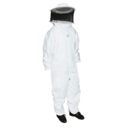 Fato de apicultor com máscara